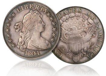 Další americký stříbrný dolar 1804